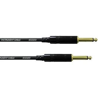 Cordial CCI6PP 6.3 mm Jack Instrument cable 6 m Black