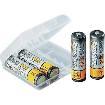 AA battery (rechargeable) NiMH Camelion HR06 mit Box 270