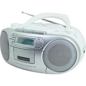 DAB+ Radio/CD SoundMaster SCD7900 AUX, CD, DAB+, Tape, FM, USB White