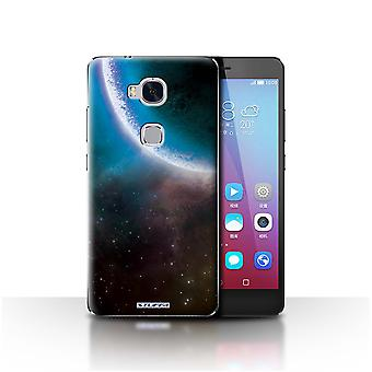 STUFF4 Case/Cover for Huawei Honor 5X/GR5/Blue Eclipse/Space/Cosmos