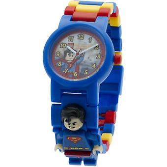 Lego Super Heroes Superman with Minifigure Clock