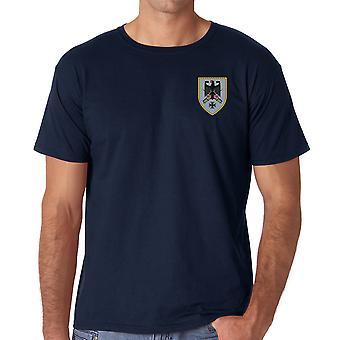 Kommando Heer German Army Command Embroidered Logo - Ringspun Cotton T Shirt
