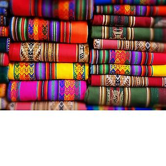 Gifts with Style Colourful Blankets Photo Print