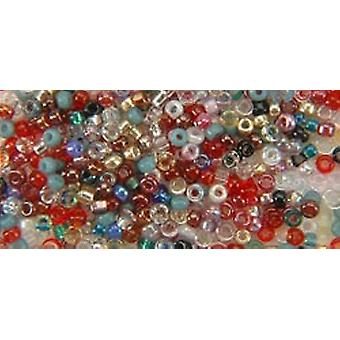 Mill Hill Petite Glass Seed Beads 2mm 1.6g-Potpourri PGBD-40777