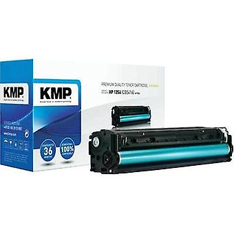 KMP Toner cartridge replaced HP 125A, CB541A Compatible Cyan 1400 pages H-T114
