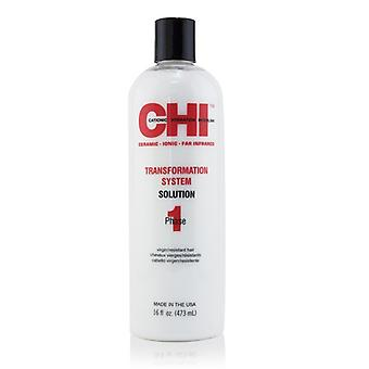 CHI Transformation System fase 1 - løsning formel A (For resistente/jomfru hår) 473ml / 16oz