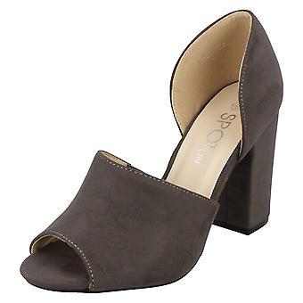 Spot de dames sur talons hauts Mule sandale F10737