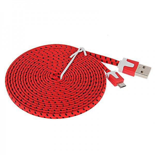 2m USB data and charging cable for all Smartphone and Tablet micro USB