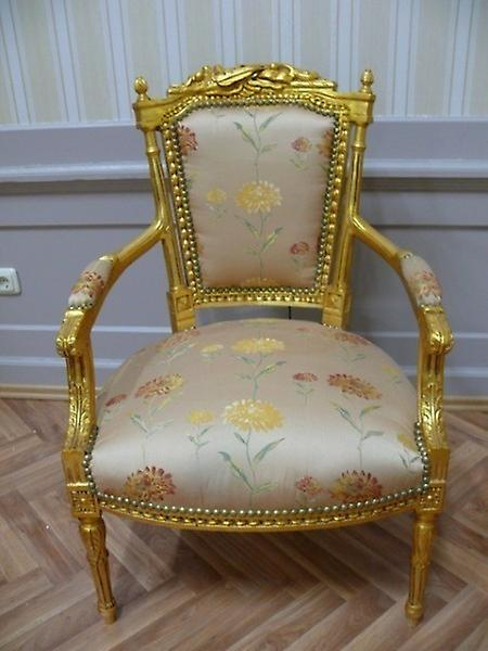 baroque armchair carved pre victorian louis carved AlSa0315Se