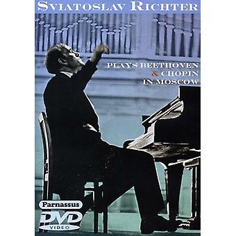 Sviatoslav Richter - Richter spiller Beethoven & Chopin i Mosc [DVD] USA import