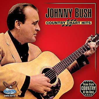 Johnny Bush - Country Chart Hits [CD] USA import