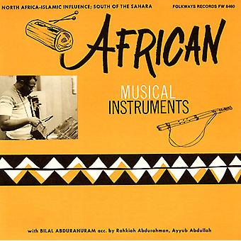 Bilal Abdurahman - African Musical Instruments [CD] USA import