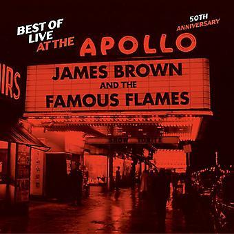 James Brown - bedste af Live på Apollo-50 års jubilæum [CD] USA importen