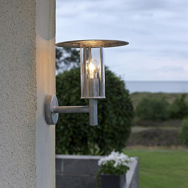 Konstsmide 660-320 Mode Galvanised Outdoor Wall Light
