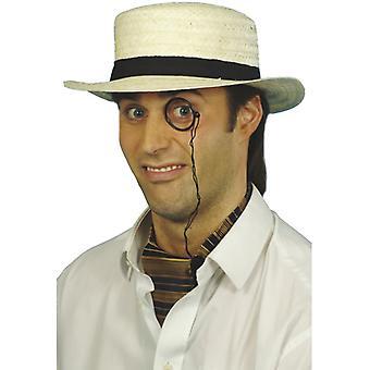 Straw Hat circular saw 20s straw hat summer