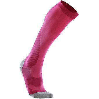 2XU Women Compression Performance Sock Pink - WA2443e