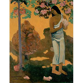 Paul Gauguin - The Month of Mary Poster Print Giclee