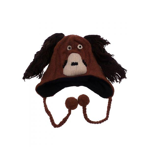 W.A.T Knitted Woollen Spaniel Dog Animal Hat
