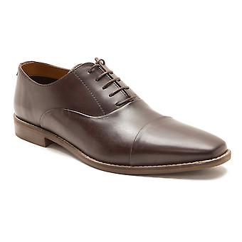 Red Tape Stanton Brown Men's Leather Lace-Up Formal Shoes