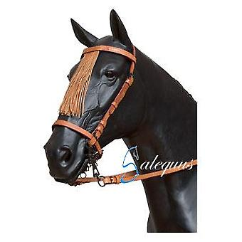 Galequus Cowgirl Full Bridle Brown