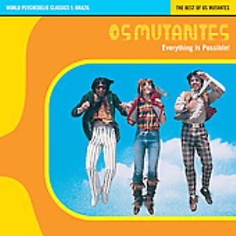 Os svarer - alt er muligt-bedste af Os Mutantes CD] USA import