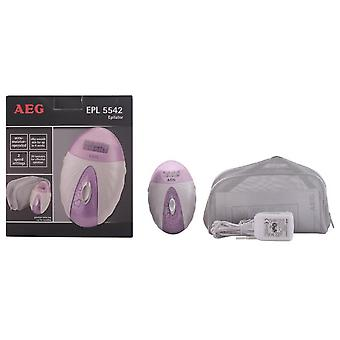 AEG EPL 5542 Epilator (Woman , Esthetics , Hair removal , Hair remover)