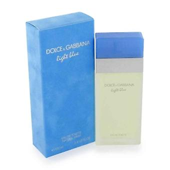 Dolce & Gabbana lys blå Eau De Toilette 100ml Spray