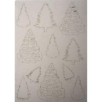 Creative Expressions Pop-ems Greyboard Diecut Shapes Trees*^^