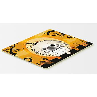 Carolines Treasures  BB1779CMT Halloween Pekingese Kitchen or Bath Mat 20x30