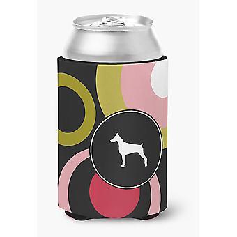 Carolines Treasures  KJ1077CC Doberman Can or Bottle Beverage Insulator Hugger