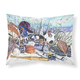 Sports on the Beach Moisture wicking Fabric standard pillowcase