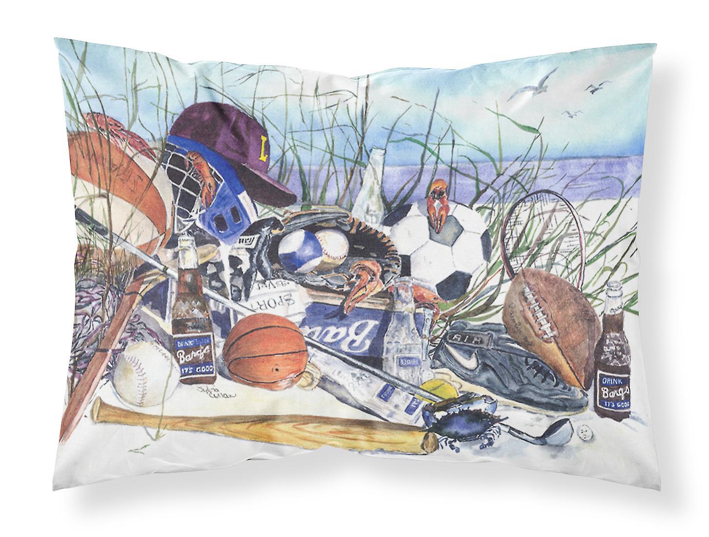 Sports on the Beach Moisture wicking Fabric standard pillowcase