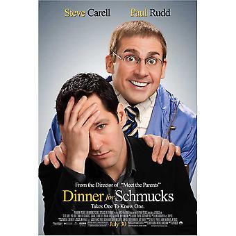 Dinner for Schmucks Movie Poster (11 x 17)