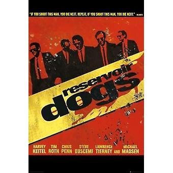 Reservoir Dogs - wandeling Poster Poster afdrukken