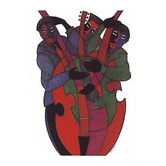 Jazz Strings Poster Print by Charles Bibbs (17 x 24)