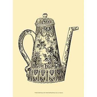Delft Pottery III Poster Print (10 x 13)