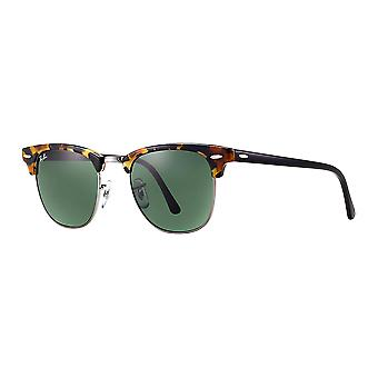 Ray - Ban Clubmaster wide Spotted Black Havana/G-15 XLT