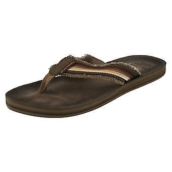 Skechers para hombre Surf cabrillas Post pies sandalias Brisino 63015
