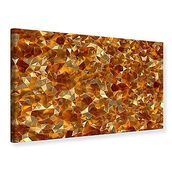 Canvas Print 3D Ambers