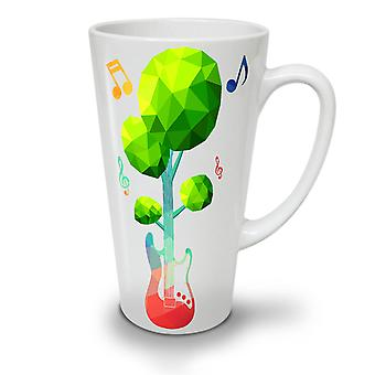 Bass Guitar Nature NEW White Tea Coffee Ceramic Latte Mug 17 oz | Wellcoda