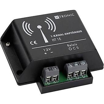 Wireless receiver 1-channel Frequency 868.35 MHz H-Tronic 16182