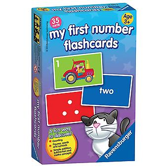 Ravensburger mio primo numeri gioco di carte di Flash