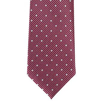Michelsons London valp tand Spot Polyester Tie - rosa