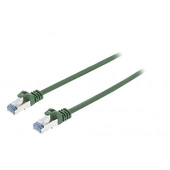 ValueLine CAT6a S/FTP network cable RJ45 (8P8C) male to RJ45 (8P8C) Male 10.00 m Green