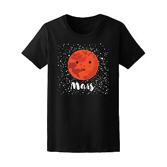 Kawaii Space Mars Planet Tee - Image by Shutterstock