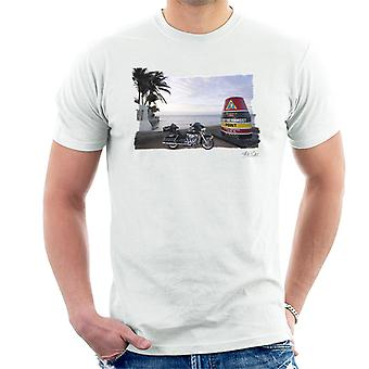 T-shirt Harley Davidson chave oeste branco masculino