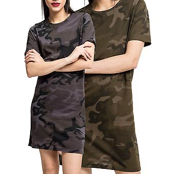 Urban classics ladies - long shirt Jersey summer dress