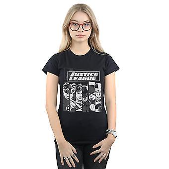 DC Comics Justice League Streifen die Frauenunterhemde