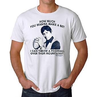 Napoleon Dynamite Sports Mountains Men's White Funny T-shirt NEW Sizes S-2XL