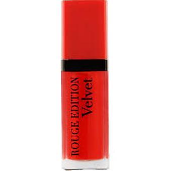 Bourjois läpp Rouge Edition Velvet Lipstick 7,7 ml - Olé Flamingo!